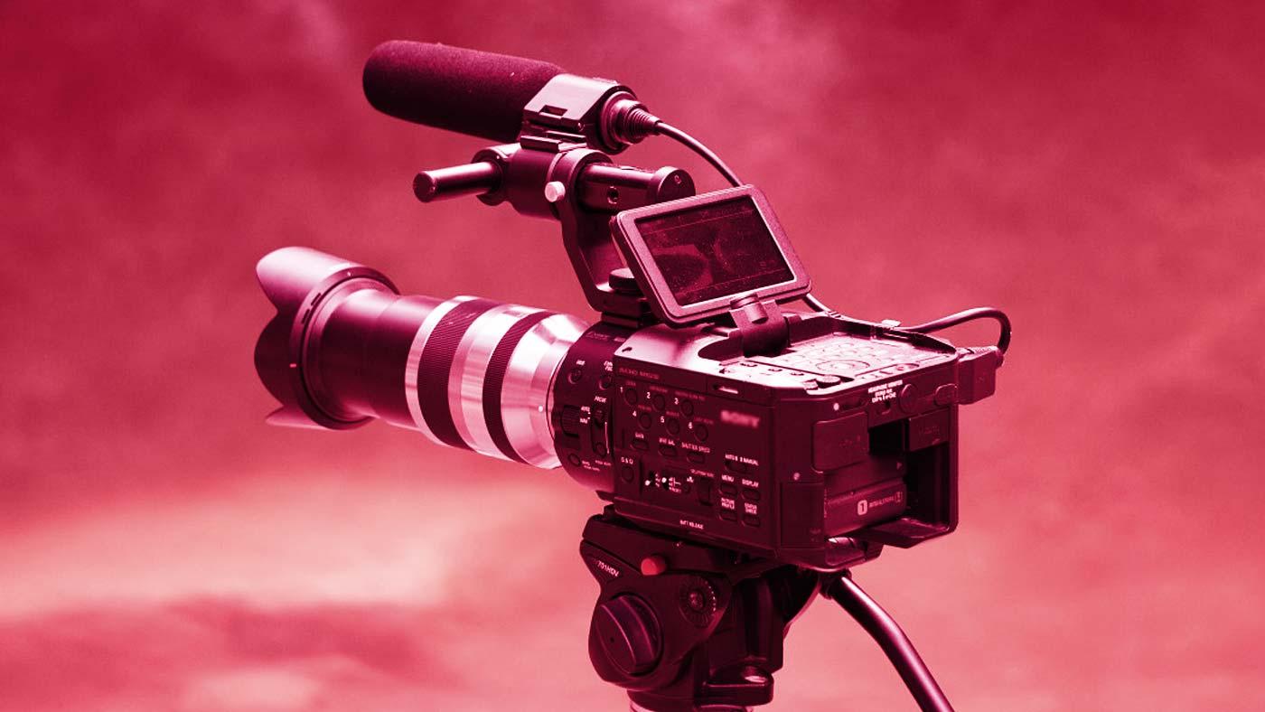 Cámara de producción de televisión