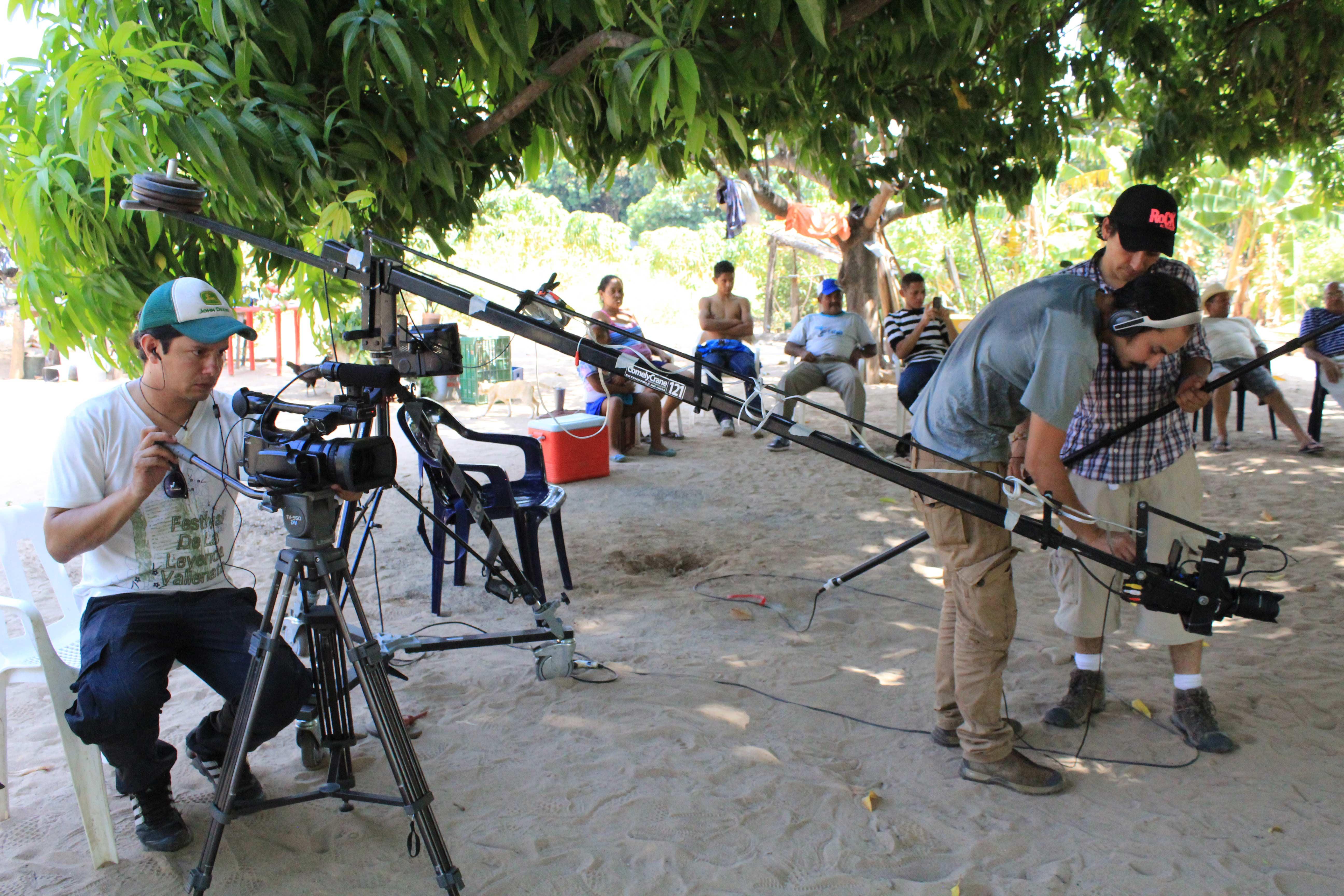Registro de la producción del documental Leandro el último juglar